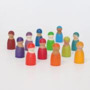 Grimms Regenbogenbande 12 Freunde