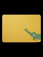 Kindertischset, Croco Krokodil